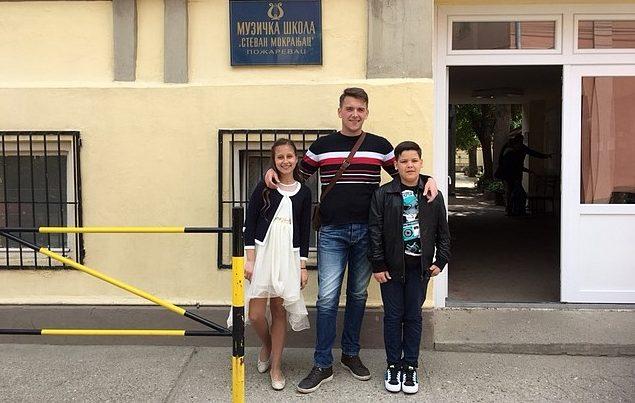 Hana i Vedad osvojili prva mjesta za izvedbe na međunarodnom takmičenju u Srbiji