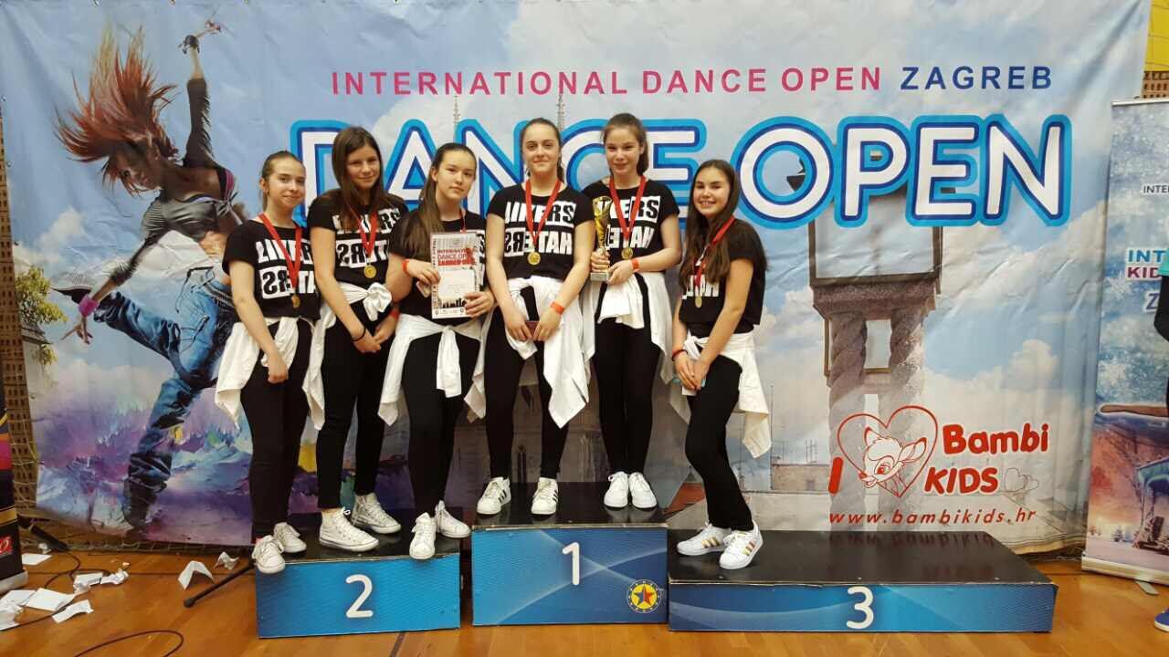 Plesni centar LDF postigao uspjeh na najvećem plesnom turniru u regiji