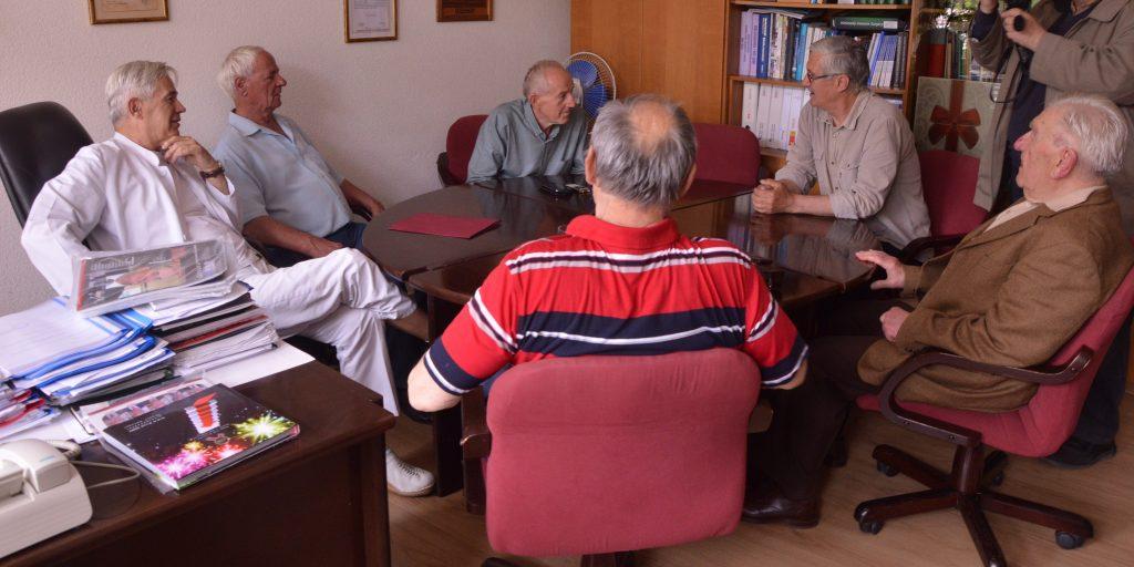 Nikola Barišić posjetio travničku Bolnicu u kojoj mu je prije 22 godine spašen život