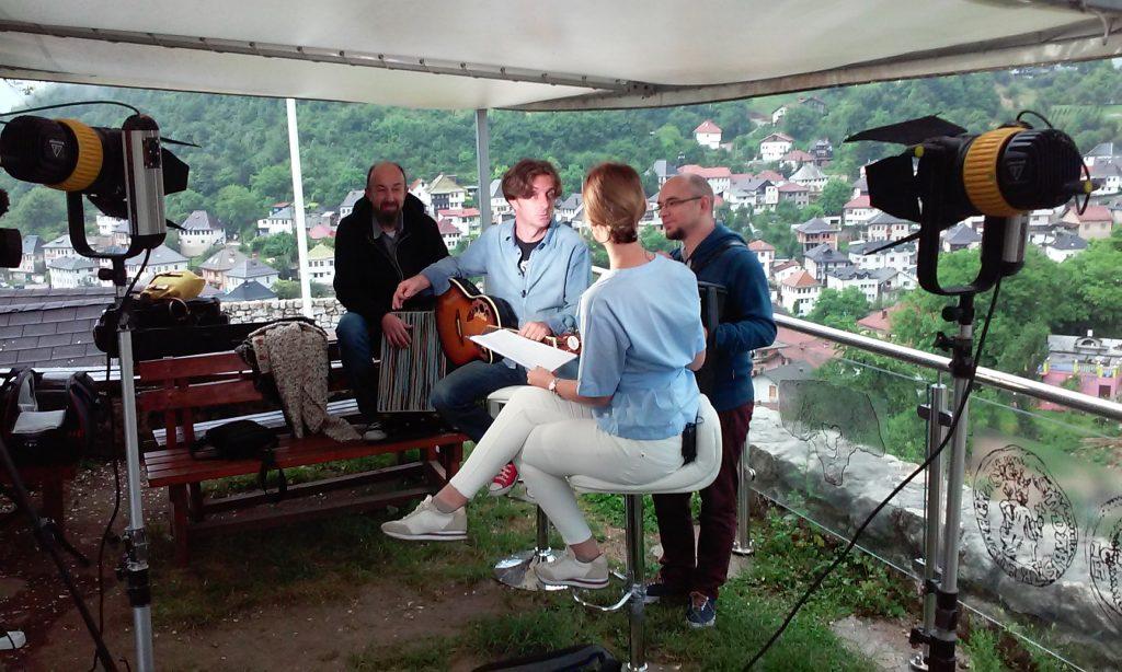 Mustra Orchestra u Novom danu na N1 o travničkim muzičarima...
