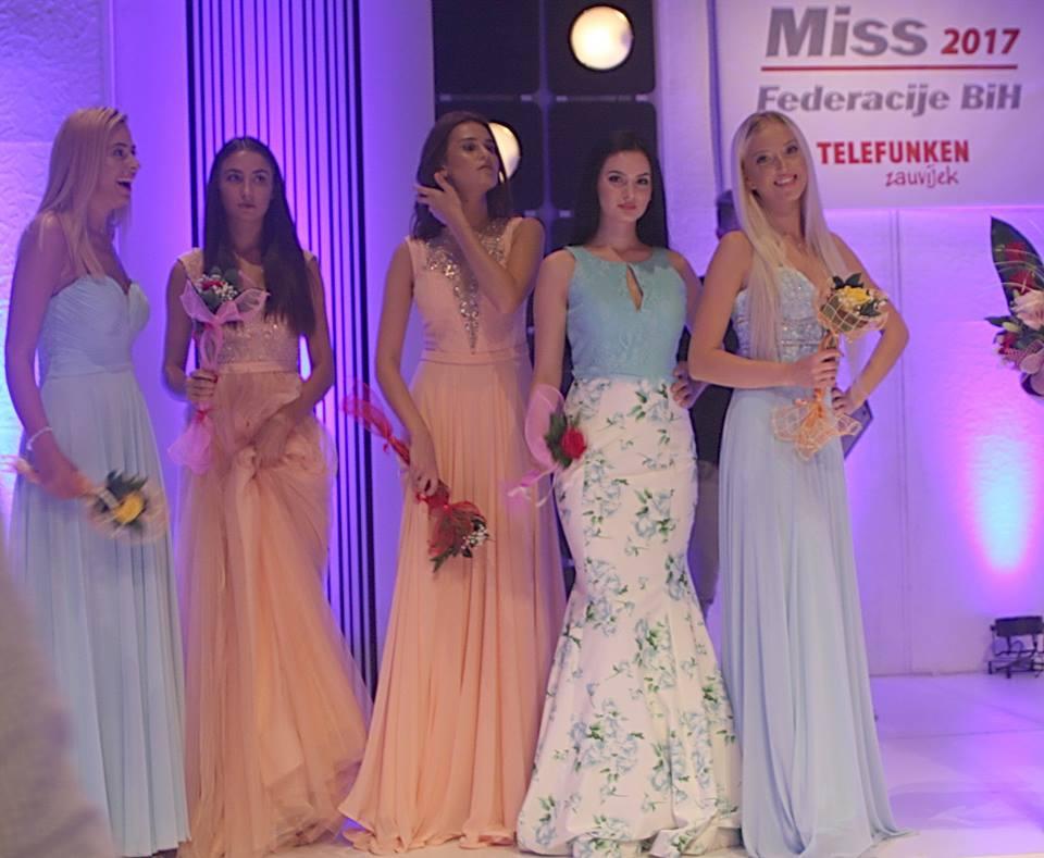 Miss SBK Esmedina Luković u završnici takmičenja za Miss BiH
