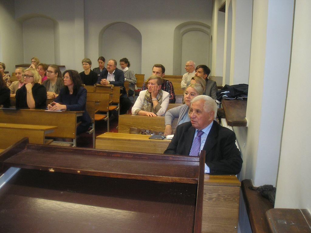 Akademik Jusufranić u posjeti Vilnius univerzitetu u Litvaniji