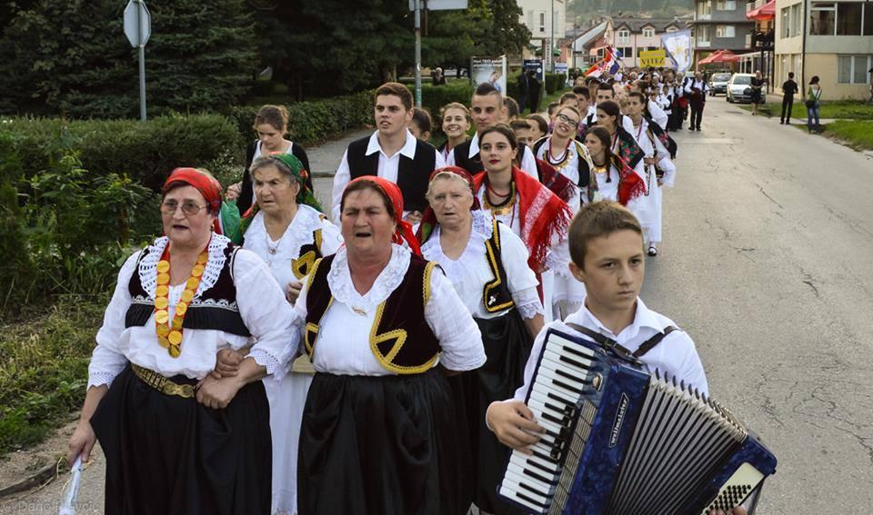 "Busovača domaćin  V. međunarodne smotre folklora ""Srce Središnje Bosne"""