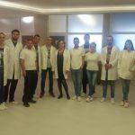 """Studenti fizioterapije i radne terapije Sveučilišta """"VITEZ"""" na praksi u fojničkom Reumalu"""