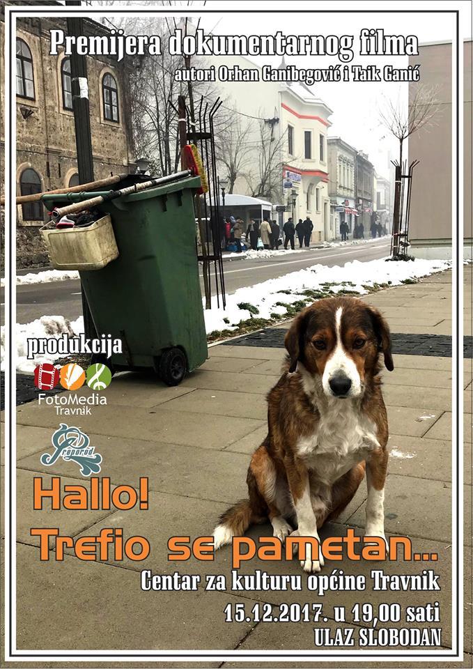 "Premijera dokumentarnog filma ""Hallo! Trefio se pametan…"""
