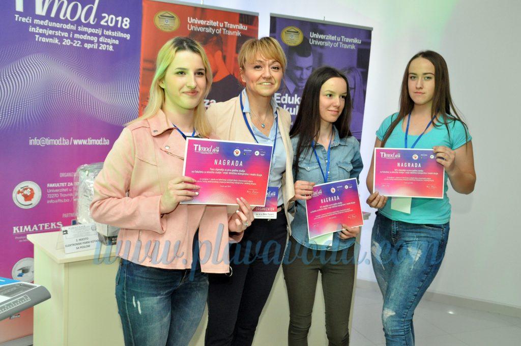 Timod 2018 - Nagrade za uspješne srednjoškolce u šivenju i konstrukciji