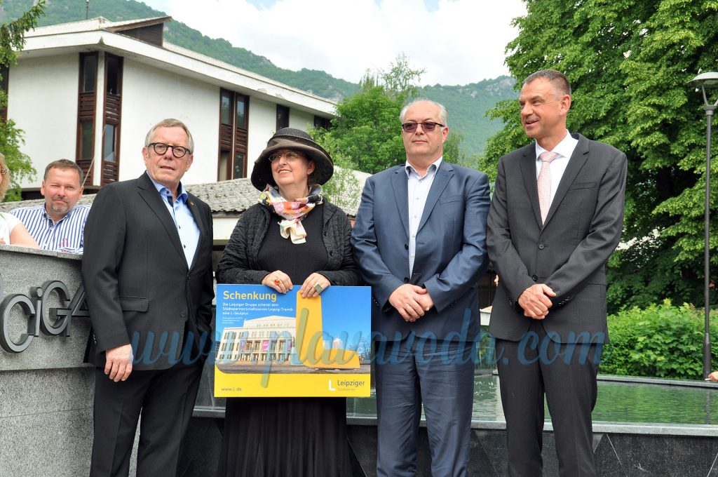 Trg grada Lajpciga u Travniku: Spreman za rođendansku proslavu