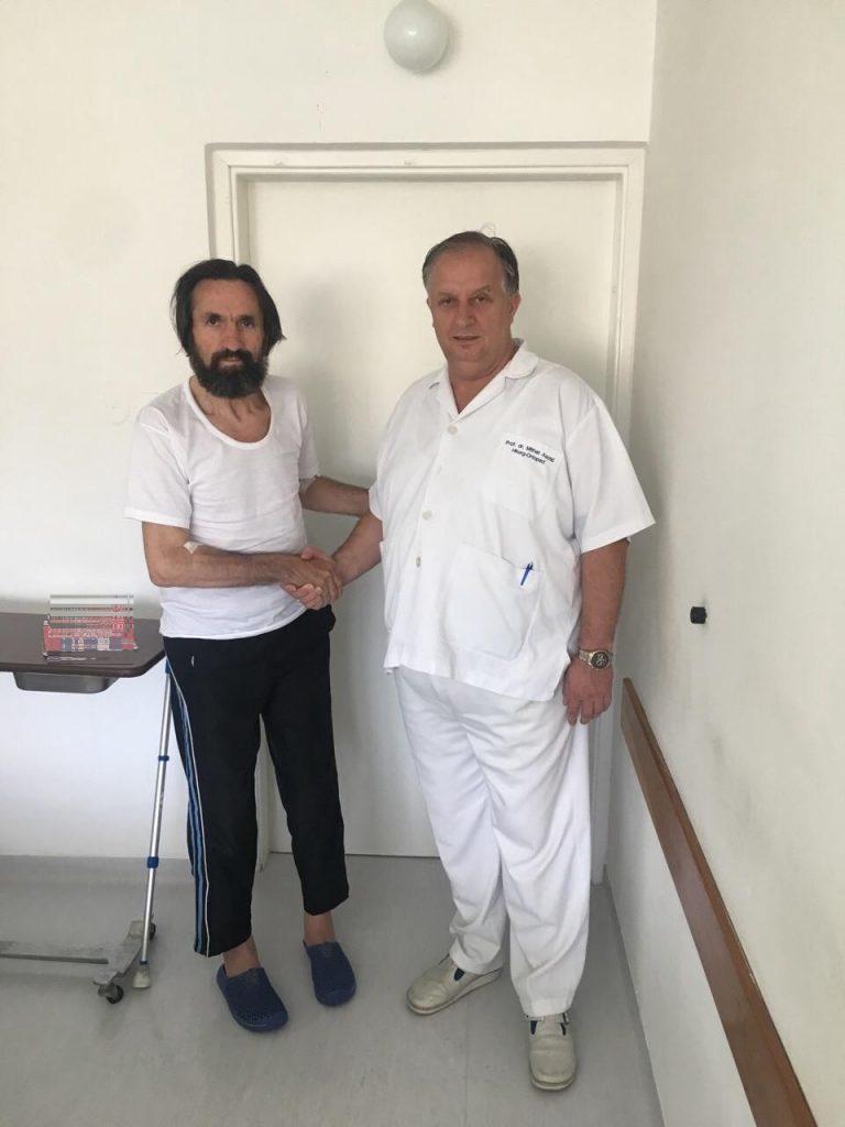 Slovo zahvalnosti hirurgu, prof. dr. Mithatu Asotiću i njegovom stručnom timu