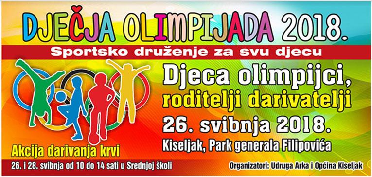 Dječja olimpijada se vraća u Kiseljak