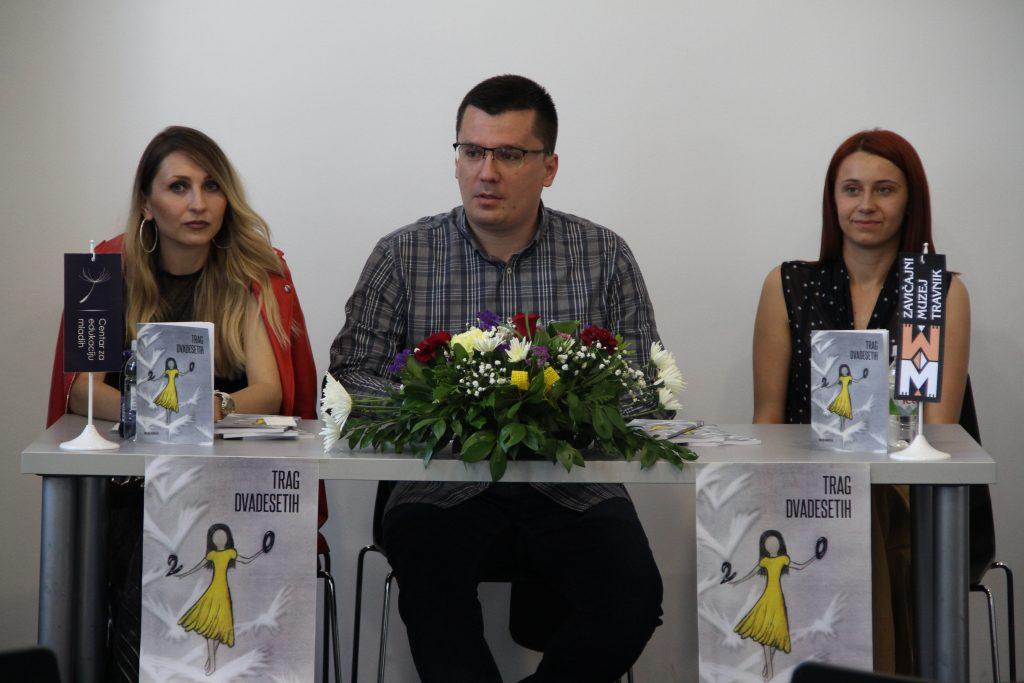 "Promovisana  knjiga ""Trag dvadesetih"" Minele Avdičević"