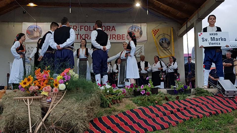 "Održana kulturna manifestacija ""Večer folklora župa Potkraj i Turbe"""
