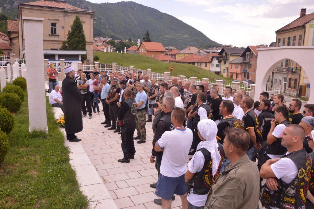 Travnik domaćin za 700 motorista koji putuju za Srebrenicu