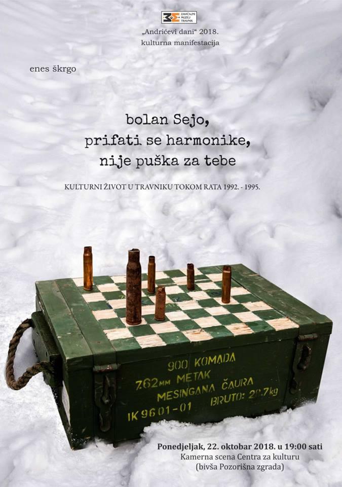 Promocija knjige Enesa Škrge