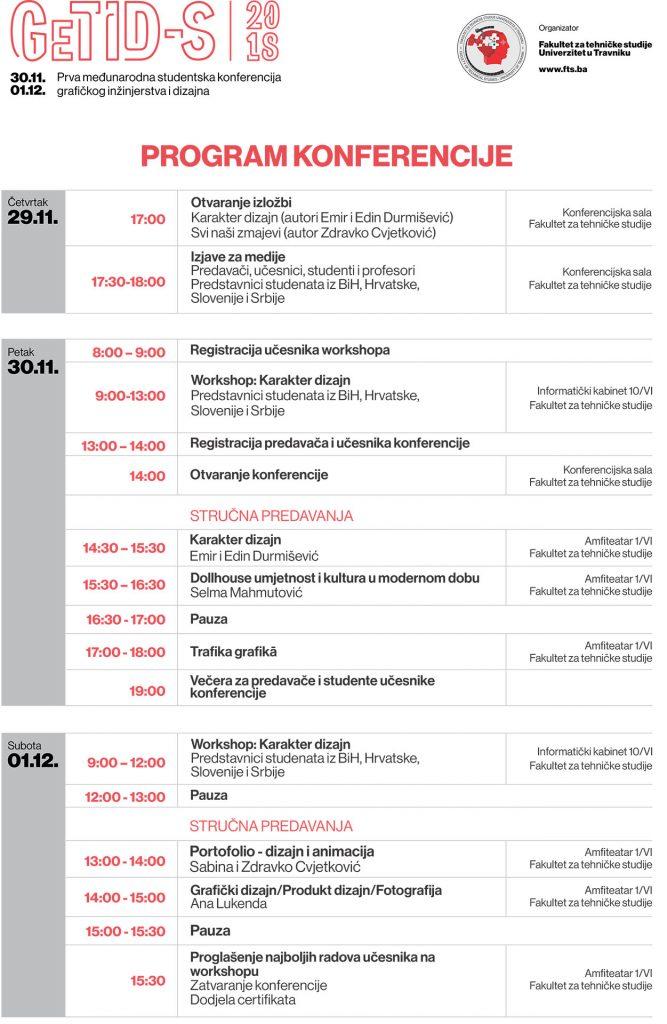 Prva međunarodna studentska konferencija GeTID-S