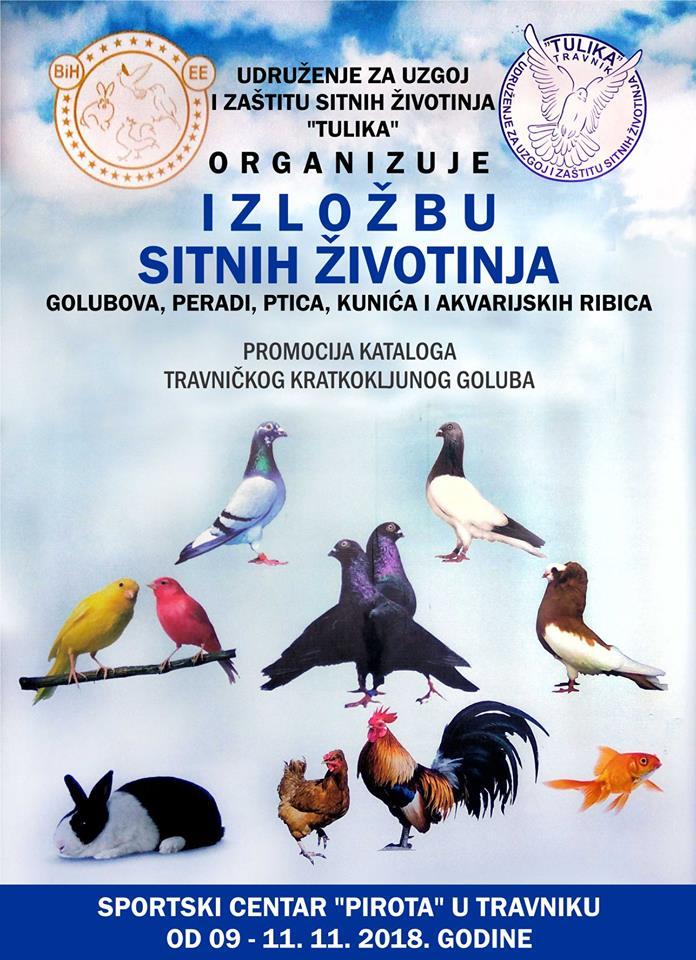 U Travniku se održava izložba sitnih životinja