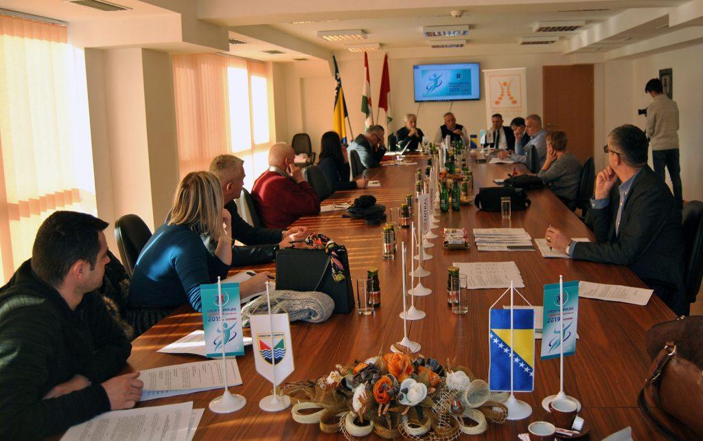 Održana sjednica Organizacionog odbora za Izbor najboljih sportista SBK u 2018. godini