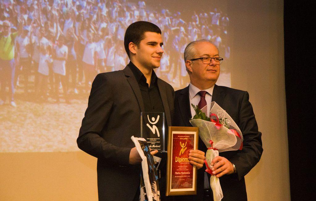 Karatista Arsim Gaši najbolji sportista Općine Travnik u protekloj godini