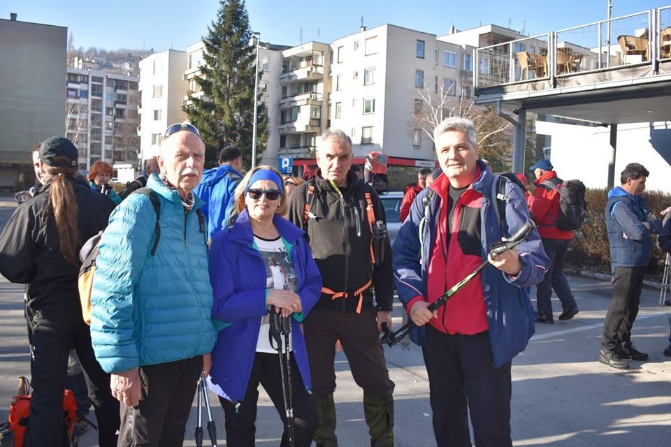 Oko 80 učesnika krenulo put staze kojom se kretao Erik Brandis
