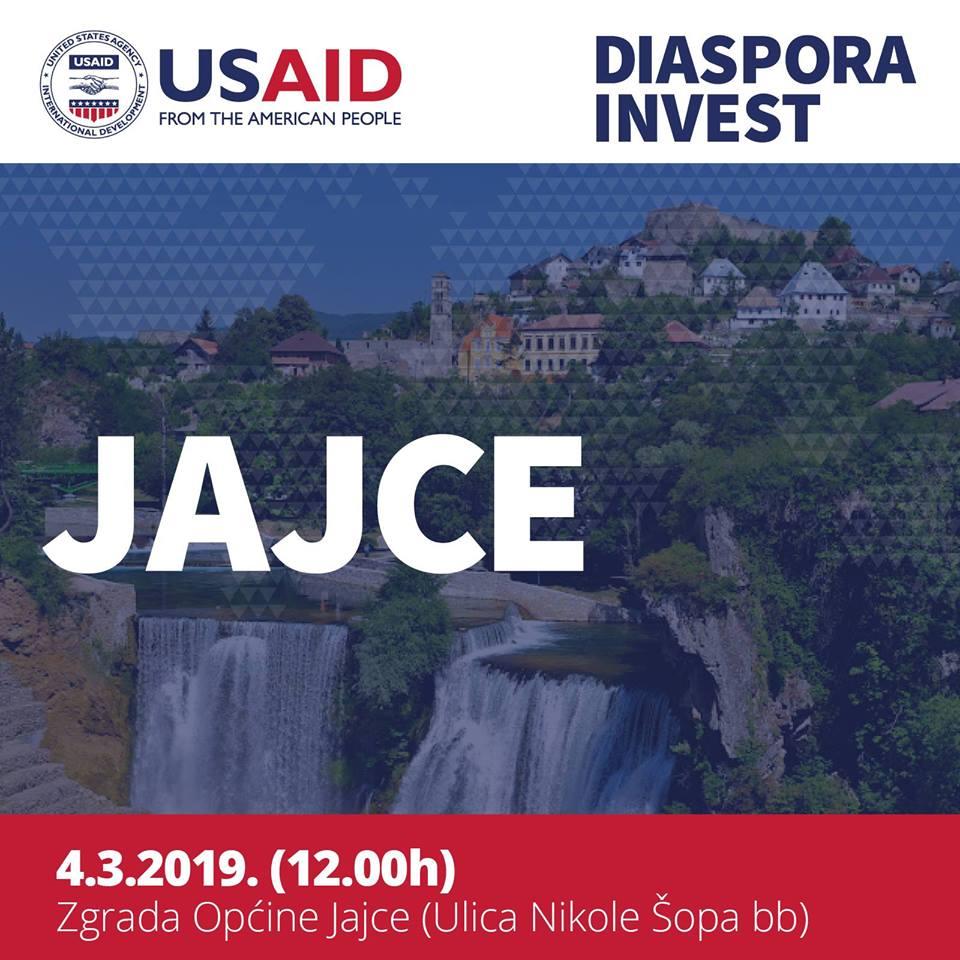 USAID Diaspora Invest i Općina Jajce predstavljaju liniju grant sredstava