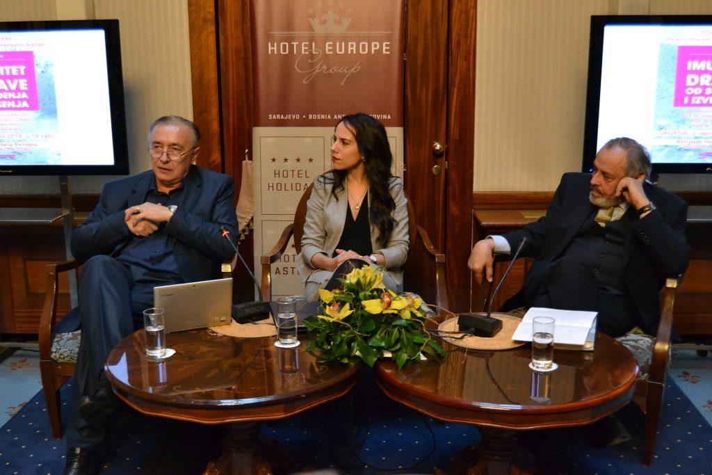 """U Sarajevu predstavljena knjiga """"Imunitet države od suđenja i izvršenja"""" autorice doc. dr. Ajle Škrbić"""