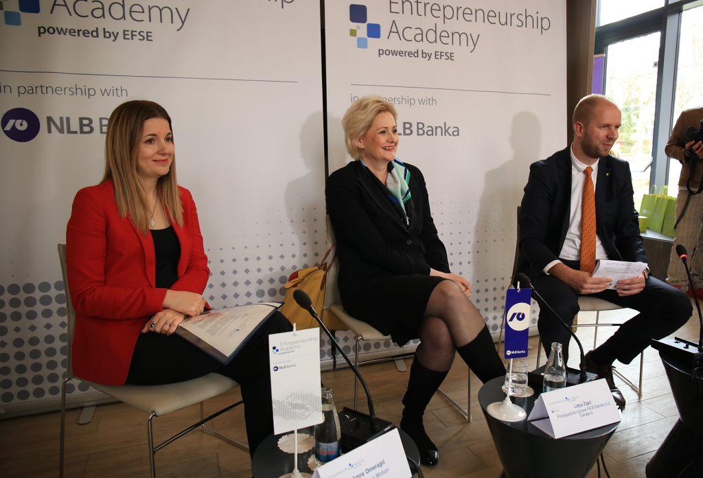 """NLB Banka i EFSE danas predstavili """"Akademiju za poduzetnike"""""""