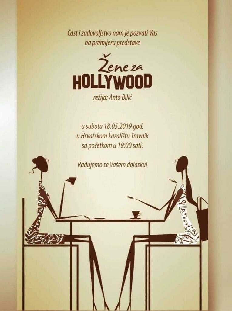 """Premijera predstave """"Žene za Hollywood"""" u izvedbi HAK Travnik"""