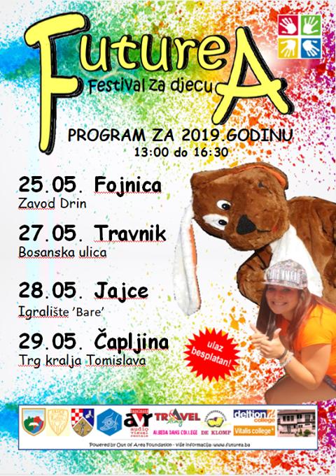 """Festival za djecu """"Futurea"""" ove godine u tri srednjobosanske općine"""