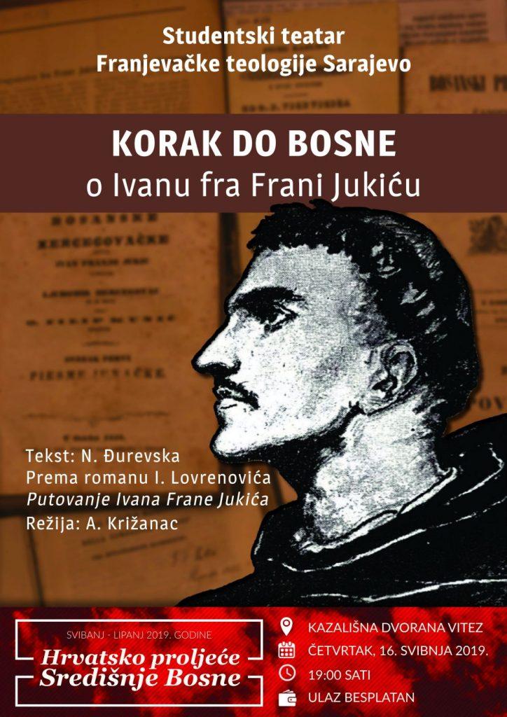 """""""Hrvatsko proljeće u Vitezu"""": Za kazališne sladokusce predstava o fra Ivanu Frani Jukiću"""