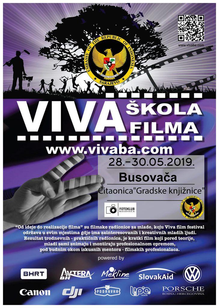 """Viva škola filma"" u Busovači"