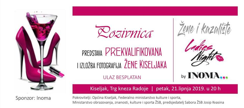 Petak u Kiseljaku rezerviran za dame: Ladies night by Inoma