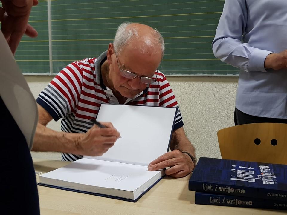 U Sarajevu predstavljena knjiga Ljudi i vrijeme Zvonimira Čilića