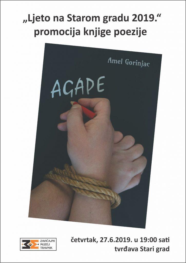 """""""AGAPE"""" promocija knjige poezije Amela Gorinjca"""