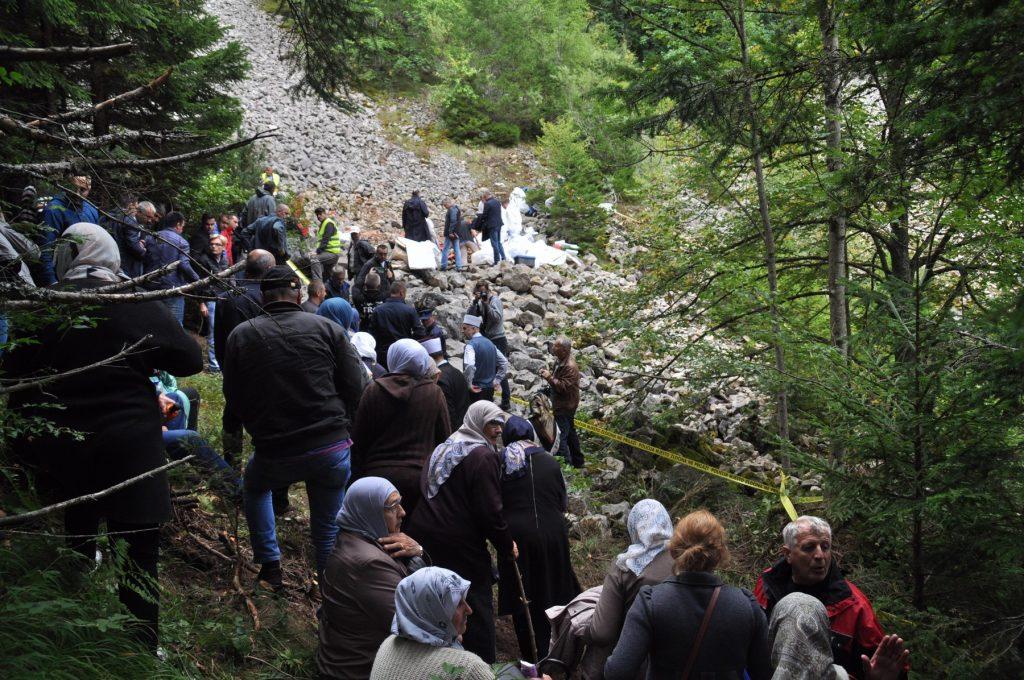 Ukop žrtava sa Korićanskih stijena 20. jula