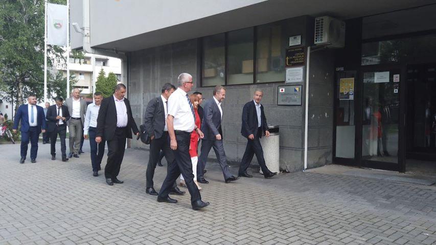 Delegacija SDA u Travniku, razgovori s predstavnicima vlasti i građanima