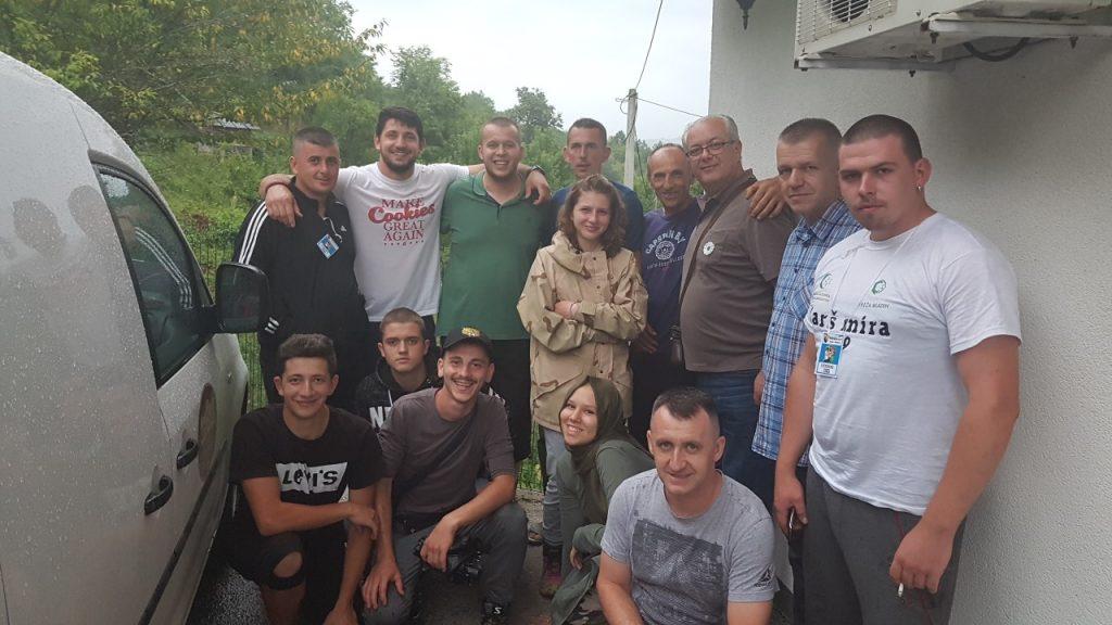 """Načelnik Admir Hadžiemrić posjetio učesnike """"Marša mira"""" iz Travnika"""
