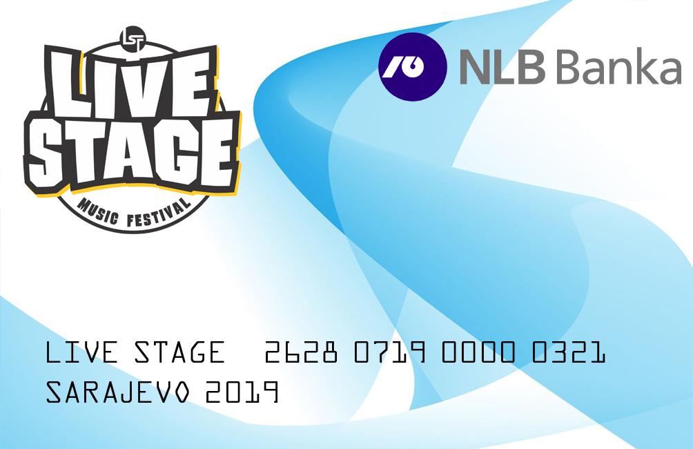 NLB BANKA D.D. Sarajevo glavni sponzor Live Stage-a
