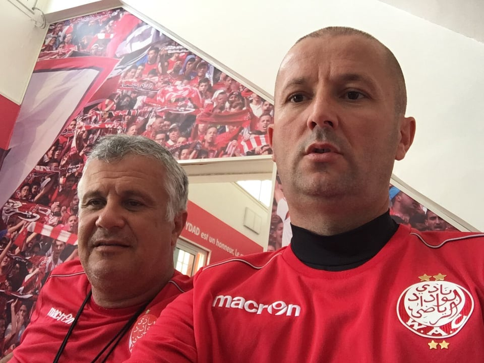 Bh. trener Adnan Hodžić u stručnom štabu Wydad AC Casablanca