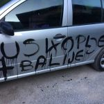 U Gornjem Vakufu osvanuli grafiti uvredljivog sadržaja