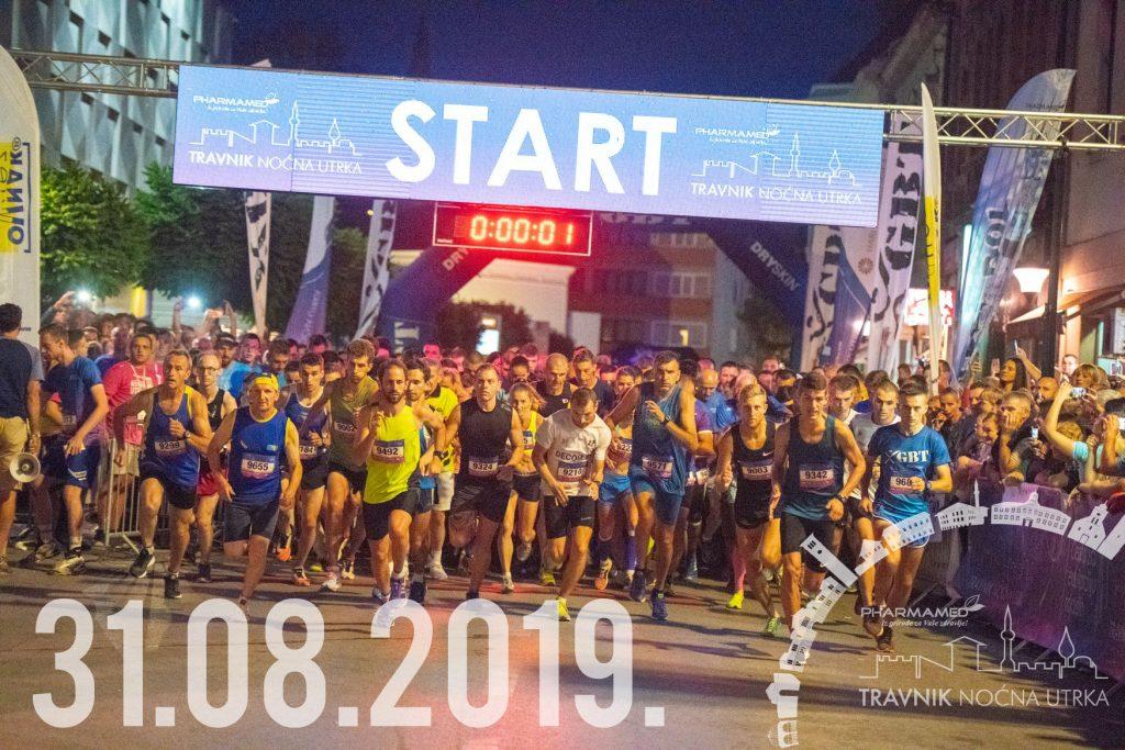 Sve spremno za Pharmamed Travnik noćnu utrku: Organizator očekuje 1400 trkača