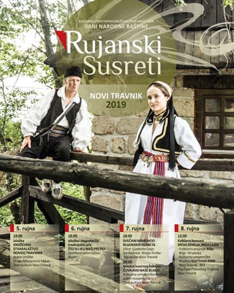"""Novi Travnik i ove godine domaćin """"Rujanskim susretima"""""""