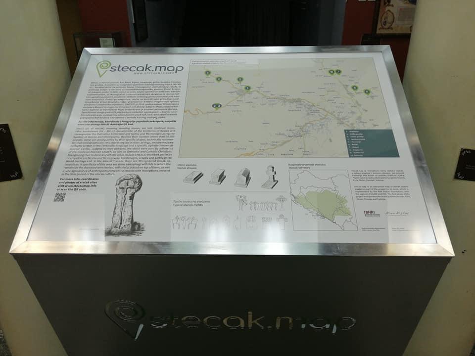 """Zavičajni muzej Travnik predstavio projekat """"U kamenu uklesano"""""""