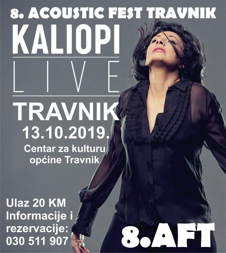 Kaliopi gošća ovogodišnjeg 8. Acoustic festa Travnik