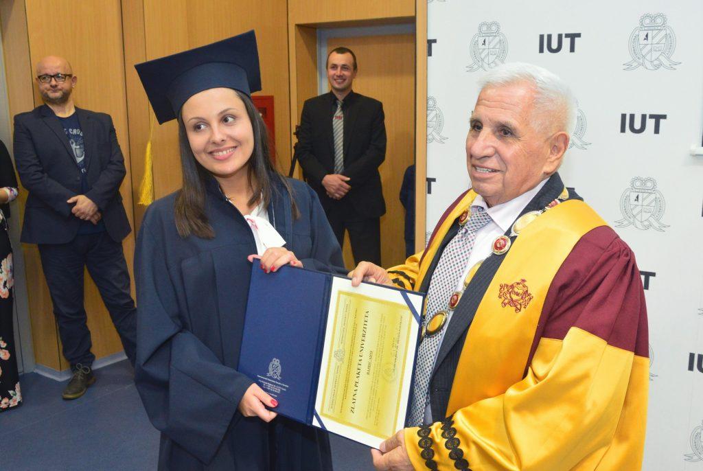 Promocija na Internacionalnom Univerzitetu u Travniku (IUT)