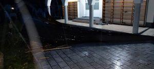 Olujni vjetar srušio dio munare u naselju Grivići kod Sarajeva