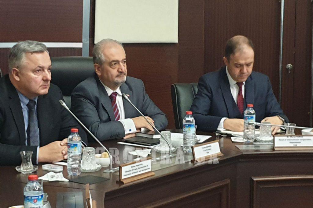 Ministar Vujanović na Danu namjenske industrije u Ankari
