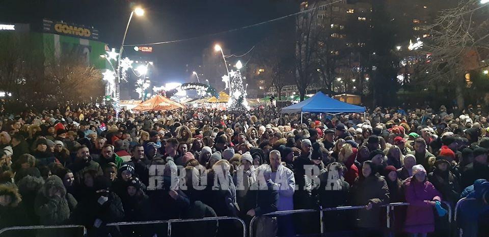 Nova godina dočekana na otvorenom širom BiH
