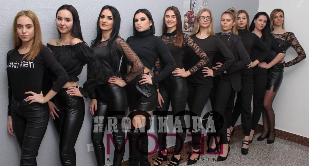 """Nikolina Džepić prvoplasirana na """"Izboru za fotomodel Kiseljaka za fotomodel BiH 2020"""""""