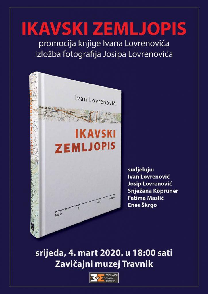 """Promocija knjige """"Ikavski zemljopis"""" Ivana Lovrenovića"""