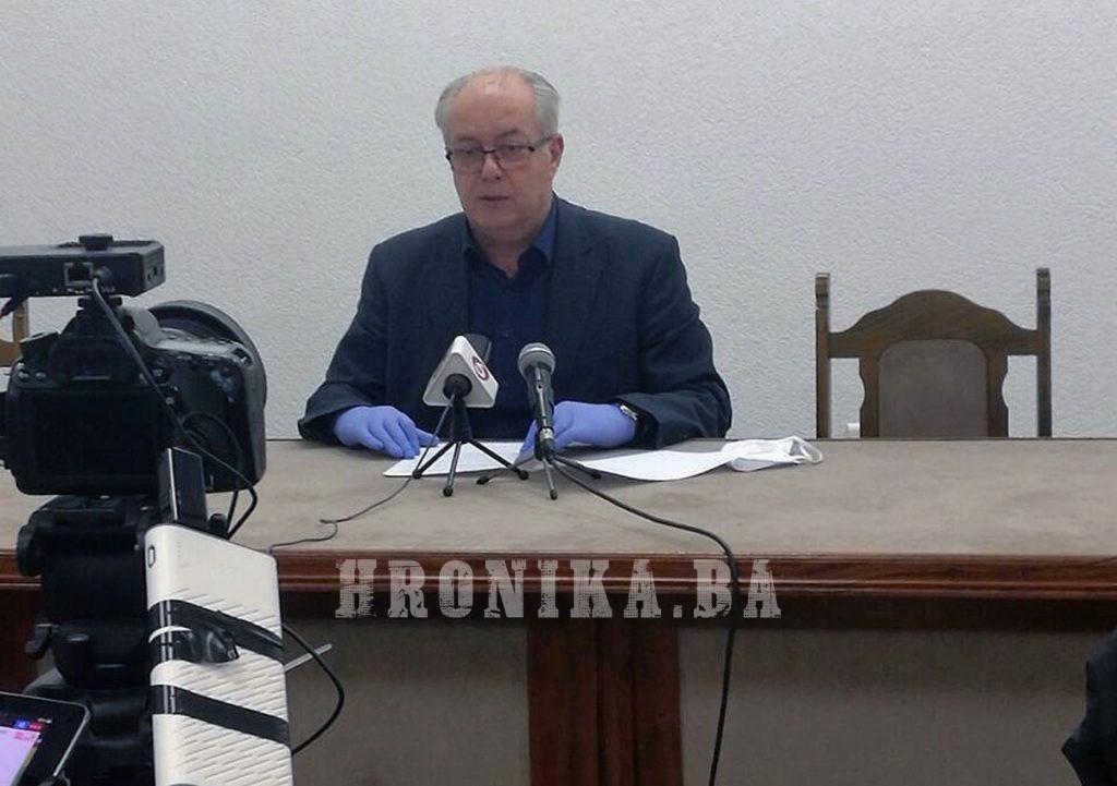 Načelnik Admir Hadžiemrić informisao javnost o poduzetim aktivnostima u borbi protiv koronavirusa