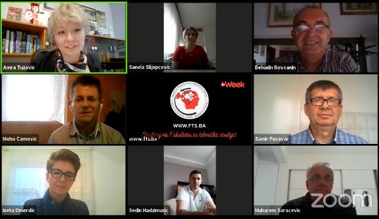 """Zanimljive prezentacije i radionice u okviru  """"InWeek"""" na Fakultetu za tehničke studije Travnik"""